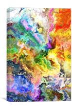 The garden of Paradise, Canvas Print