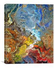 Finding Saint Graal, Canvas Print