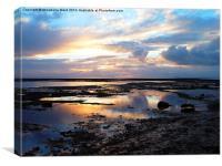 Bembridge Sunrise, Canvas Print