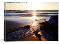 Sunrise Shore, Canvas Print