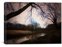 Alverston Stream, Canvas Print
