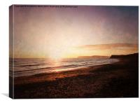 Sunset Serene, Canvas Print