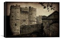 Carisbrooke Castle., Canvas Print