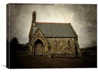 Little Chapel., Canvas Print