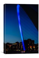 Blue Eye Bridge, Canvas Print