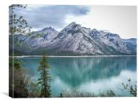 Rockies Reflection, Canvas Print