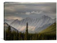 Rockie Ridge, Canvas Print