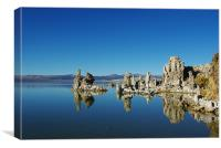 Tufa formations, Mono Lake, California, Canvas Print