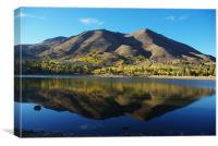 Red Lake, California, Canvas Print