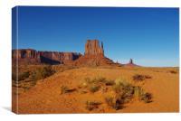 Monument Valley impression, Arizona, Canvas Print