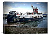 McBrayne Ferry, Canvas Print