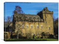 Dean Castle Palace, Canvas Print