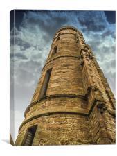 Eglinton Castle Towering, Canvas Print