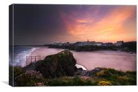 Tenby from St Catherines, Canvas Print