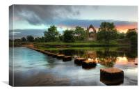 Bolton Abbey, Canvas Print