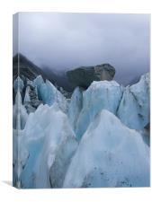 Franz Josef Glacier, Canvas Print