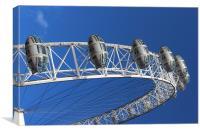 The London Eye, Canvas Print