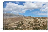 Countryside of Crete, Canvas Print