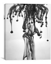 The Black Rain, Canvas Print