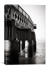 The Silvery Tay, Canvas Print