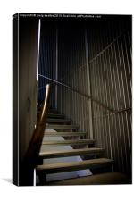McManus Spiral Stairs, Canvas Print