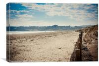 St Andrews Beach, Canvas Print