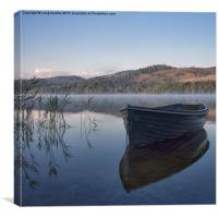 Calm Water, Canvas Print