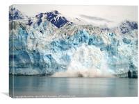 Hubbard Glacier, Alaska, Canvas Print