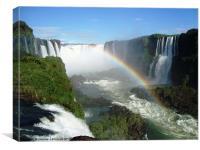 Iguassu Falls, Brazil, Canvas Print