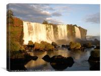Iguassu Falls, Brazil (2), Canvas Print