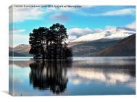 Loch Tay , Canvas Print