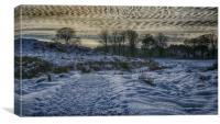 West Highland Way in winter, Canvas Print