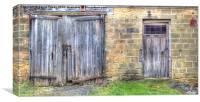 Old Barn Doors, Canvas Print