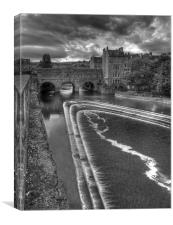 Pulteney Bridge,Bath, Canvas Print