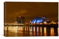 Glasgow Science Centre Armadillo, Canvas Print