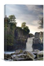 High Force, Teesdale, Canvas Print