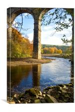 Lambley Viaduct, Canvas Print