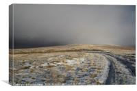 Winter on Hartside, Canvas Print