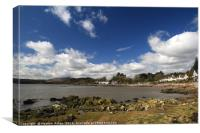 Rockcliffe, Dumfries & Galloway, Canvas Print