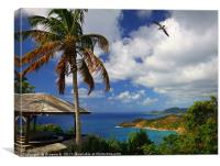 Antigua View, Canvas Print