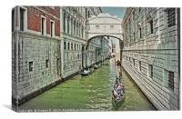 Venice 2, Canvas Print