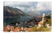 Kotor Montenegro 2, Canvas Print
