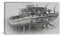 Ship Wreck, Canvas Print