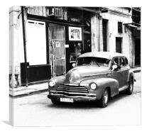 Cuba Car 2, Canvas Print