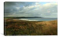 widemouth bay nr bude, Canvas Print
