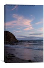 Inch Beach at Dusk, Canvas Print