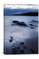 Dusk on Inch Beach , Canvas Print