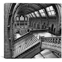 London, The Escher View, Canvas Print