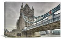 Tower Bridge, London, Canvas Print