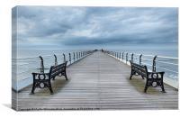 Saltburn Pier, Yorkshire, Canvas Print